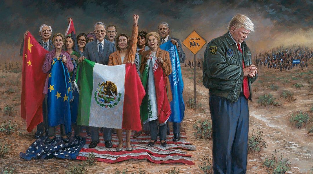 Jon McNaughton shares National Emergency Painting