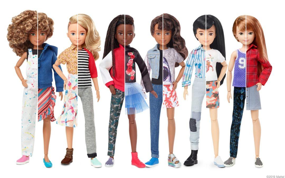 Mattel Announces a Gender-Inclusive Doll Line