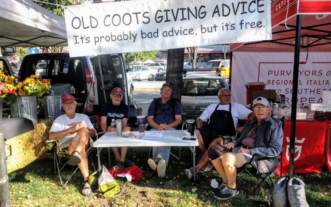Need a Little Wisdom? Ask the Old Coots