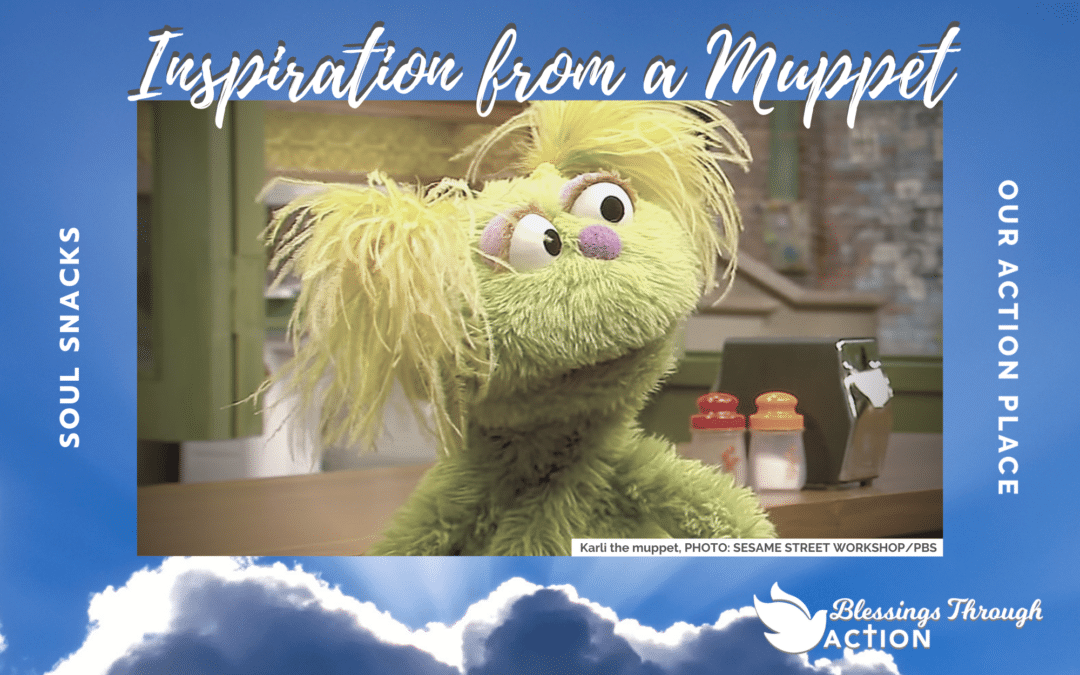 Inspiration from a Muppet