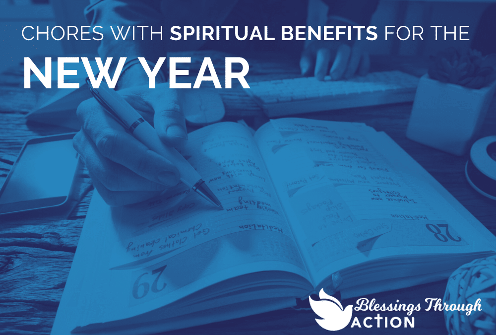 Chores With Spiritual Benefits for the New Year